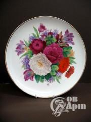 "Тарелка ""Цветы"""